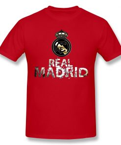 Cool Real Madrided Funny T Shirt Men Women Summer O Neck Casual Cotton T Shirt Graphic 4