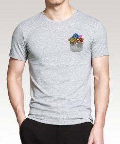 Cute Baby Yoda Fashion Men T Shirts 2020 New Arrival Hip Hop Streetwear Cotton Tshirt The 1