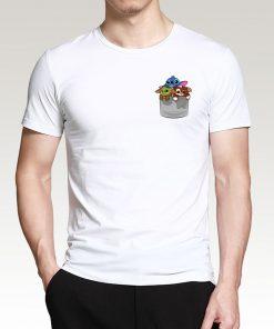 Cute Baby Yoda Fashion Men T Shirts 2020 New Arrival Hip Hop Streetwear Cotton Tshirt The 2