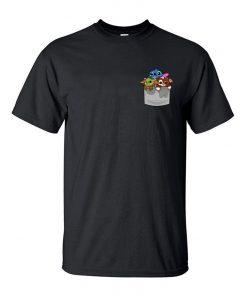 Cute Baby Yoda Fashion Men T Shirts 2020 New Arrival Hip Hop Streetwear Cotton Tshirt The 3