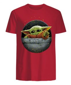 Cute Force Mandalorian Baby Yoda Men s T Shirt 1