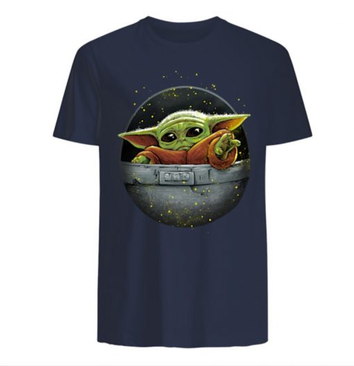 Cute Force Mandalorian Baby Yoda Men s T Shirt 2