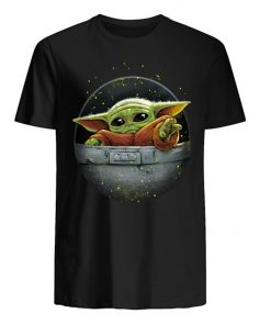 Cute Force Mandalorian Baby Yoda Men s T Shirt