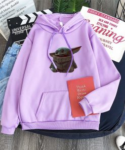Cute Yiddle hoodie Baby yoda mandalorian star wars kawaii king shirt Star Wars Baby hoody 2
