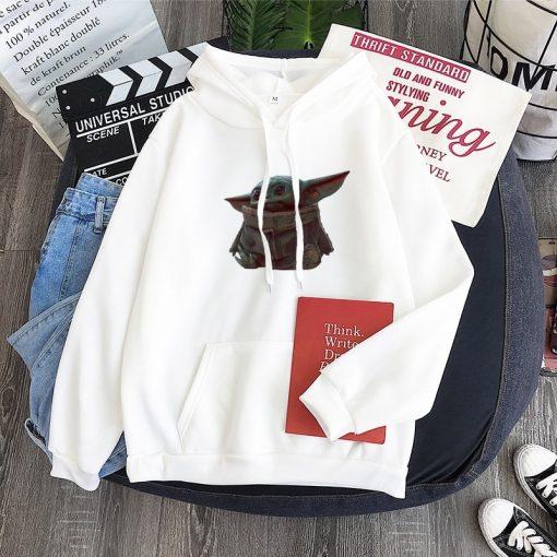 Cute Yiddle hoodie Baby yoda mandalorian star wars kawaii king shirt Star Wars Baby hoody