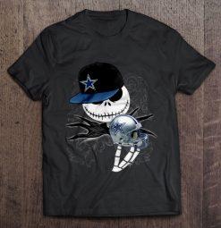 Dallas Print T Shirt Short Sleeve O Neck Cowboys Jack Streetwear Harajuku 100 Cotton Men S
