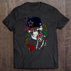 Dallas Print T Shirt Short Sleeve O Neck Cowboys Tshirts