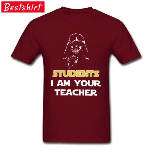 Darth Vader Star War Stickers Print T Shirt Students I Am Your Teacher Starwars Yoda Jedi 2