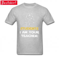 Darth Vader Star War Stickers Print T Shirt Students I Am Your Teacher Starwars Yoda Jedi 3