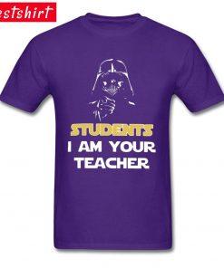 Darth Vader Star War Stickers Print T Shirt Students I Am Your Teacher Starwars Yoda Jedi 4