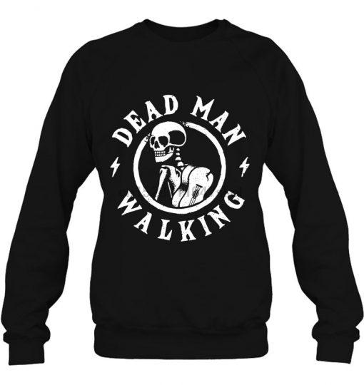 Dead Man Walking Skull Version Streetwear men women Hoodies Sweatshirts