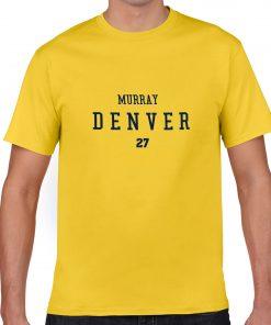 Denver Nuggets Number 27 Jamal Murray 2019 best selling New men s COTTON Short Shirt for