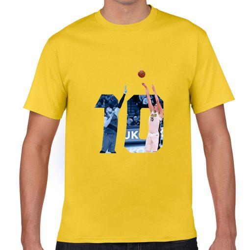 Denver Nuggets Serbia Nikola Jokic Man Basketball Jersey Tee Shirts Men gym streetwear tshirt 2