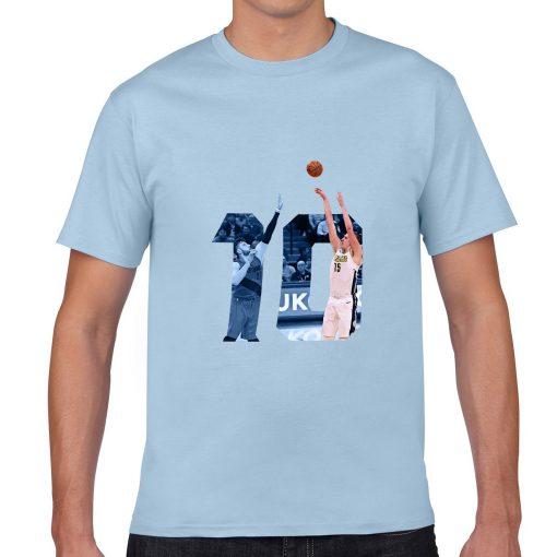 Denver Nuggets Serbia Nikola Jokic Man Basketball Jersey Tee Shirts Men gym streetwear tshirt