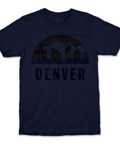 Denver Vintage T Shirt Nuggets Vintage Denver Basketball 3