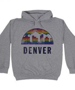 Denver Vintage T Shirt Nuggets Vintage Denver Basketball 4