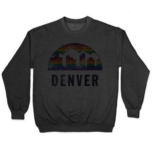Denver Vintage T Shirt Nuggets Vintage Denver Basketball 5