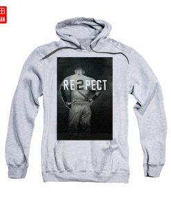 Derek Jeter Ny T Shirt yankees baseball sports derek jeter respect new york city uniforms signs 4