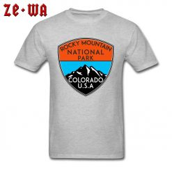 Design Logo Slogan T Shirts For Men Rocky Mountain National Park Colorado Cool T Shirts For 1