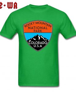 Design Logo Slogan T Shirts For Men Rocky Mountain National Park Colorado Cool T Shirts For 2