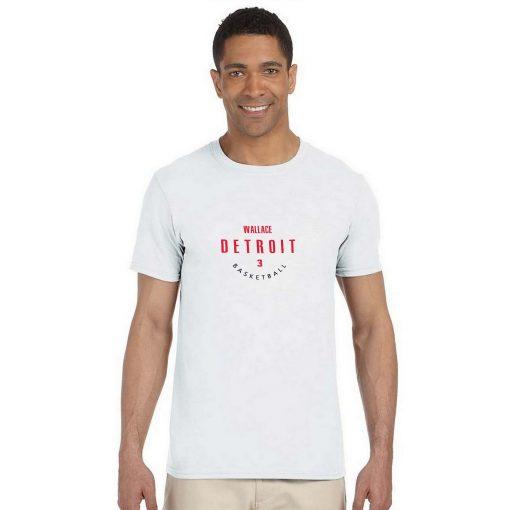 Detroit Pistons 3 Ben Wallace Basketball Fans Wear Nostalgic Man Women Cotton Men s Casual T 2