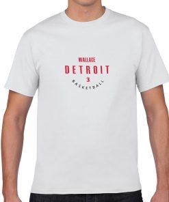 Detroit Pistons 3 Ben Wallace Basketball Fans Wear Nostalgic Man Women Cotton Men s Casual T 4