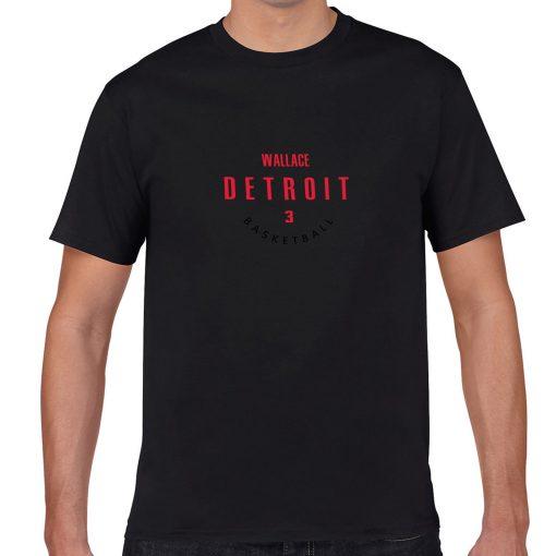 Detroit Pistons 3 Ben Wallace Basketball Fans Wear Nostalgic Man Women Cotton Men s Casual T