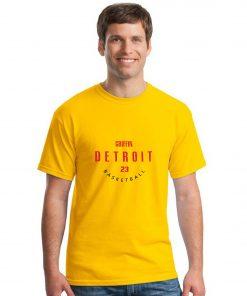 Detroit Pistons NO 23 Blake Griffin Men Basketball Jersey Tee Shirts Fashion Man streetwear tshirt 2