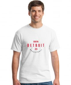 Detroit Pistons NO 23 Blake Griffin Men Basketball Jersey Tee Shirts Fashion Man streetwear tshirt