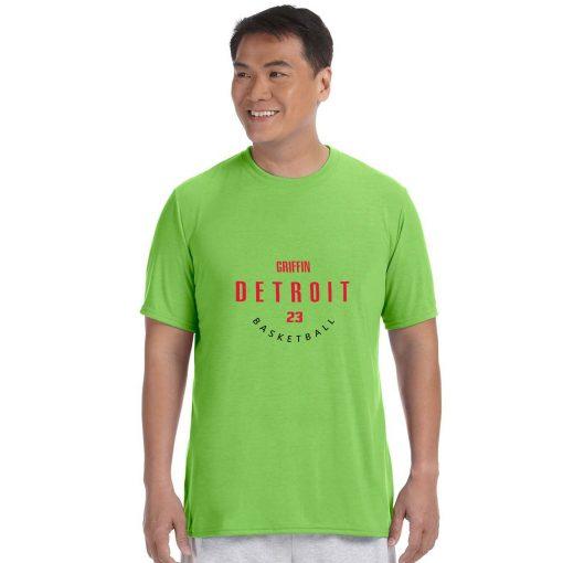 Detroit Pistons NO 23 Blake Griffin Men Basketball Jersey Tee Shirts Fashion Man streetwear tshirt 3