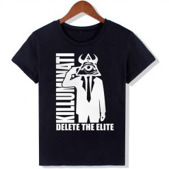 Dingtoll The Walking Dead Fashion T Shirts Women New Funny O Neck Top Letters Tees Hipster 1