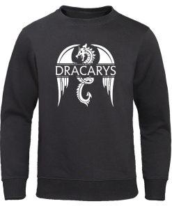 Dracarys Mens Hoodie Game Of Thrones Hoodies Sweatshirts Male Fashion Hoody Harajuku Unisex Sweatshirt Casual Autumn 1