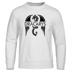 Dracarys Mens Hoodie Game Of Thrones Hoodies Sweatshirts Male Fashion Hoody Harajuku Unisex Sweatshirt Casual Autumn 2