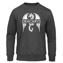 Dracarys Mens Hoodie Game Of Thrones Hoodies Sweatshirts Male Fashion Hoody Harajuku Unisex Sweatshirt Casual Autumn