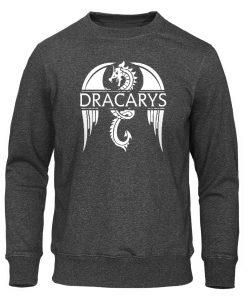 Dracarys Mens Hoodie Game Of Thrones Hoodies Sweatshirts Male Fashion Hoody Harajuku Unisex Sweatshirt Casual Autumn
