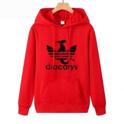 Dracarys Vintage Style Hoodie Game Of Thrones Daenerys Drogon Fire Printed Hoody Sweatshirt For Man Woman 2