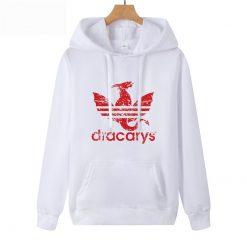 Dracarys Vintage Style Hoodie Game Of Thrones Daenerys Drogon Fire Printed Hoody Sweatshirt For Man Woman