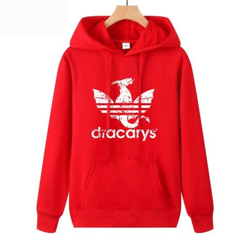 Dracarys Vintage Style Hoodie Game Of Thrones Daenerys Drogon Fire Printed Hoody Sweatshirt For Man Woman 3