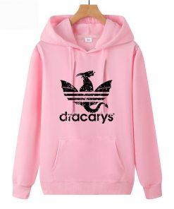 Dracarys Vintage Style Hoodie Game Of Thrones Daenerys Drogon Fire Printed Hoody Sweatshirt For Man Woman 5