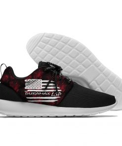 Duramax America Flag Logo Sports Shoes Truck Fans Sneakers USA Flag Lightweight Classical Running Shoes For 4