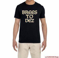 FGHFG Black New Orleans Brees to Dez TFGHFG Shirt Unisex men women t shirt