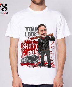 Fashion 2017 Summer T shirt The Walking Dead no hope men t shirt rise up top 1