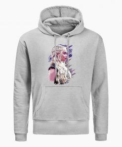Fashion Game Of Thrones Hoodies Daenerys Targaryen Mother Of Dragons Print Hoodie Men Winter Casual Hoodies 1