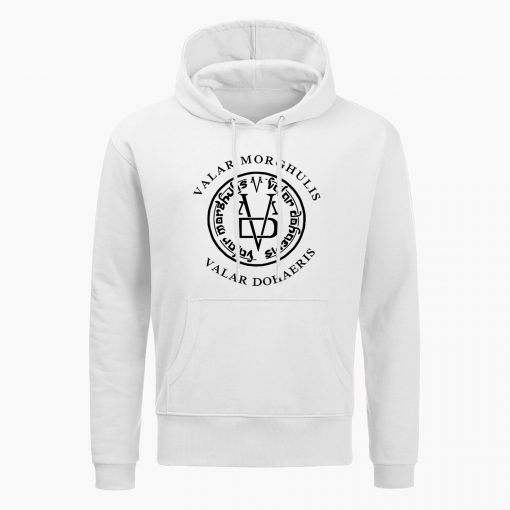 Fashion Game Of Thrones Men Hoodies Sweatshirts Valar Morghulis Valar Dohaeris Print Hoodie Winter Casual Sweatshirt 1