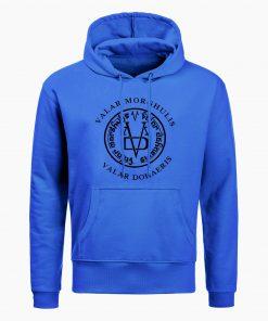 Fashion Game Of Thrones Men Hoodies Sweatshirts Valar Morghulis Valar Dohaeris Print Hoodie Winter Casual Sweatshirt 2