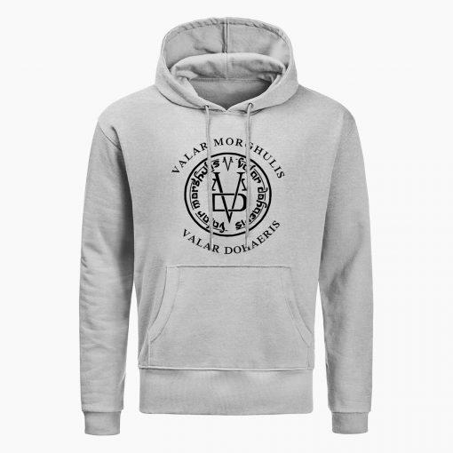 Fashion Game Of Thrones Men Hoodies Sweatshirts Valar Morghulis Valar Dohaeris Print Hoodie Winter Casual Sweatshirt 4