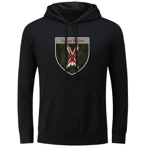 Fashion Game of Thrones House Bolton Our Blades are Sharp Hoodies Men Women Unisex Sweatshirt Pullover 3