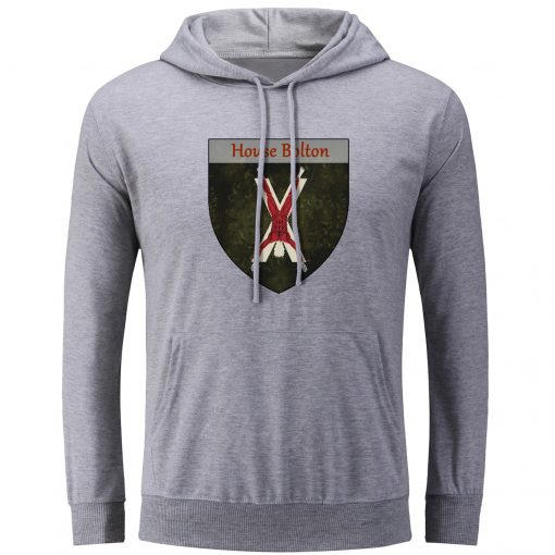 Fashion Game of Thrones House Bolton Our Blades are Sharp Hoodies Men Women Unisex Sweatshirt Pullover