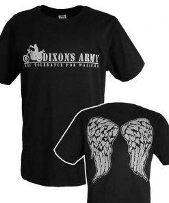 Fashion Men T Shirts The Walking Dead New Daryl Dixon T Shirt O Neck Top Tees 2