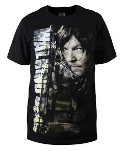 Fashion Men T Shirts The Walking Dead New Daryl Dixon T Shirt O Neck Top Tees